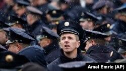 Sa prosvjeda policajaca u Sarajevu 18.prosinca