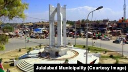 منظره شهر جلال آباد.