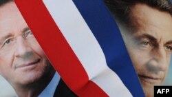 Франсуа Олланд и Николя Саркози: кто наступает, кто обороняется?