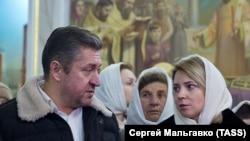 Наталья Поклонская вместе с бывшим мужем Иваном Соловьевым, архивное фото