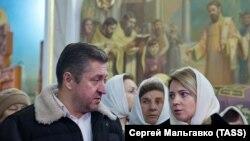 Поклонская вместе с бывшим мужем Иваном Соловьевым, архивное фото