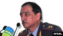 Абдураҳим Қаҳҳоров, вазири корҳои дохилии Тоҷикистон