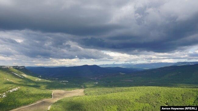 Пейзаж Бахчисарайского района