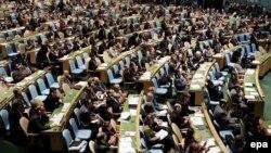 Итог голосования: 50 стран - за, 17 - против, 86 - воздержались. Из года в год число стран-сторонников этой резолюции растет. В 2008 году за нее проголосовало всего 17 членов ООН