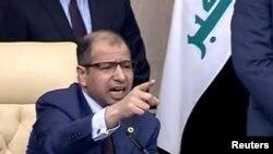 د عراق د پارلمان رئیس سلیم الجبوري