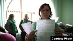 Омск. Голодовка в приемной президента. Фото Александра Румянцева