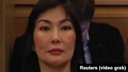 Алма Шалабаева, жена бывшего казахстанского банкира и политэмигранта Мухтара Аблязова, находящегося под стражей во Франции.