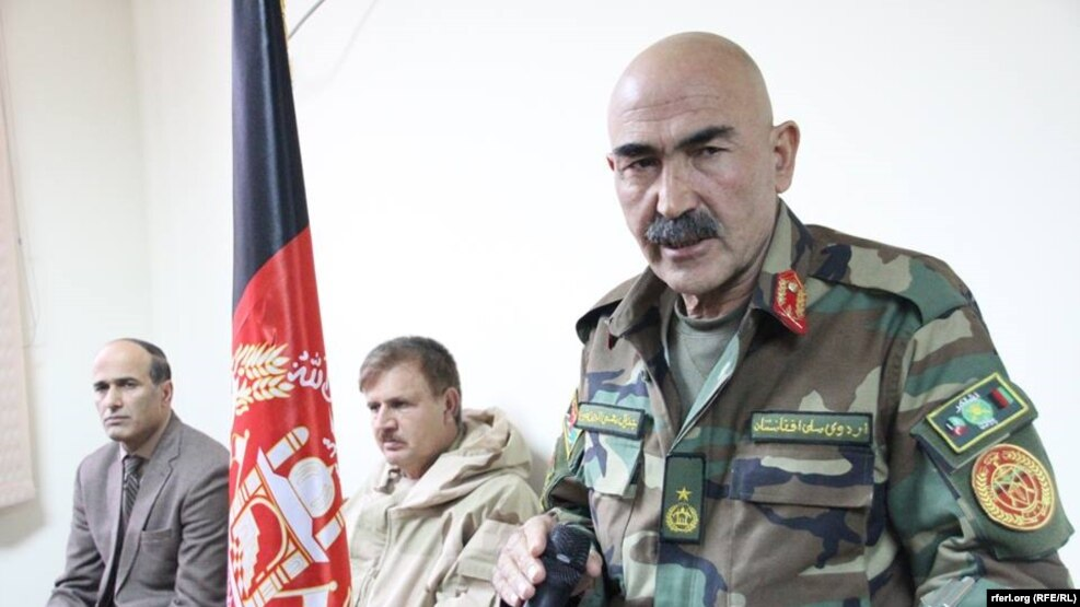 General Mohayedin Ghori was the army corps commander for western Afghanistan