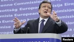Прэзыдэнт Эўрапейскай камісіі Жозэ Мануэль Барозу
