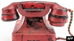 Adolf Hitlerin şəxsi istifadəsində olmuş telefon.