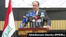 رئيس الوزراء المنتهية ولايته نوري المالكي