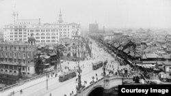 Capitala Japoniei, Tokyo, în anii 1920 (Foto: Biblioteca Centrală Universitară Iași)