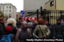 Томские пенсионерки остановили кортеж Бастрыкина