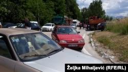 Blokada saobraćaja prema Bosanskom Petrovcu