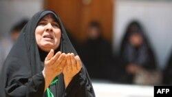 Одна из участниц шиитских религиозных церемоний