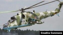 Мі-35 – вертоліт саме такої моделі впав сьогодні.
