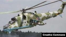 Ռուսական արտադրության Ми-35 ուղղաթիռը, արխիվ