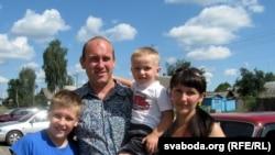 Сям'я Сяргея і Натальлі з Макееўкі