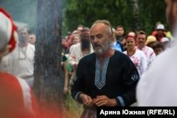 Владимир был одним из ведущих во время обряда