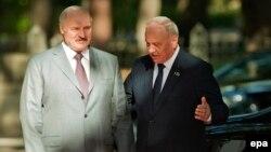 La vizita precedentă la Chișinău a președintelui Lukașenka în septembrie 2014