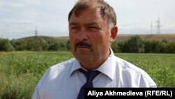 Александр Кокуненко, глава Ассоциации фермеров Алматинской области. Сентябрь 2010 года.