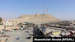 Қалат қаласының орталығы. Мұнда соңғы жылдары талибандардың шабуылы жиілеген