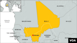 Infographic - Mali Locator Map