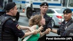 Задержания на акции протеста в Москве, 12 июня 2019 год
