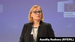 EU spokeswoman Maja Kocijancic (file photo)