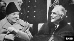 Winston Churchill i Franklin Roosevelt