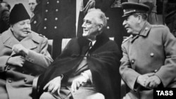 February 4-11: The 70th anniversary of the 1945 Yalta conference attended by British Prime Minister Winston Churchill, U.S. President Franklin Roosevelt, and Soviet leader Joseph Stalin.