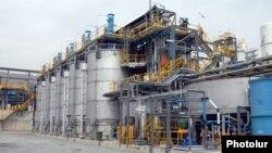 Armenia - A newly modernized gold processing plant in Ararat belonging to a Russian company, 28Apr2014.