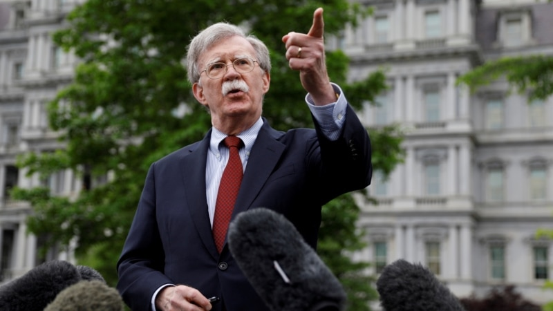 Bolton To Meet Armenian, Azeri FMs