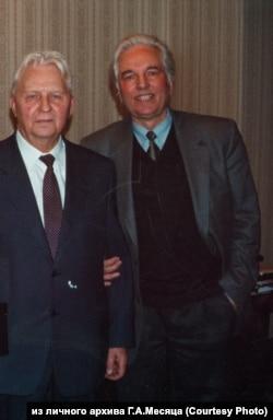 Егор Лигачев и Геннадий Месяц