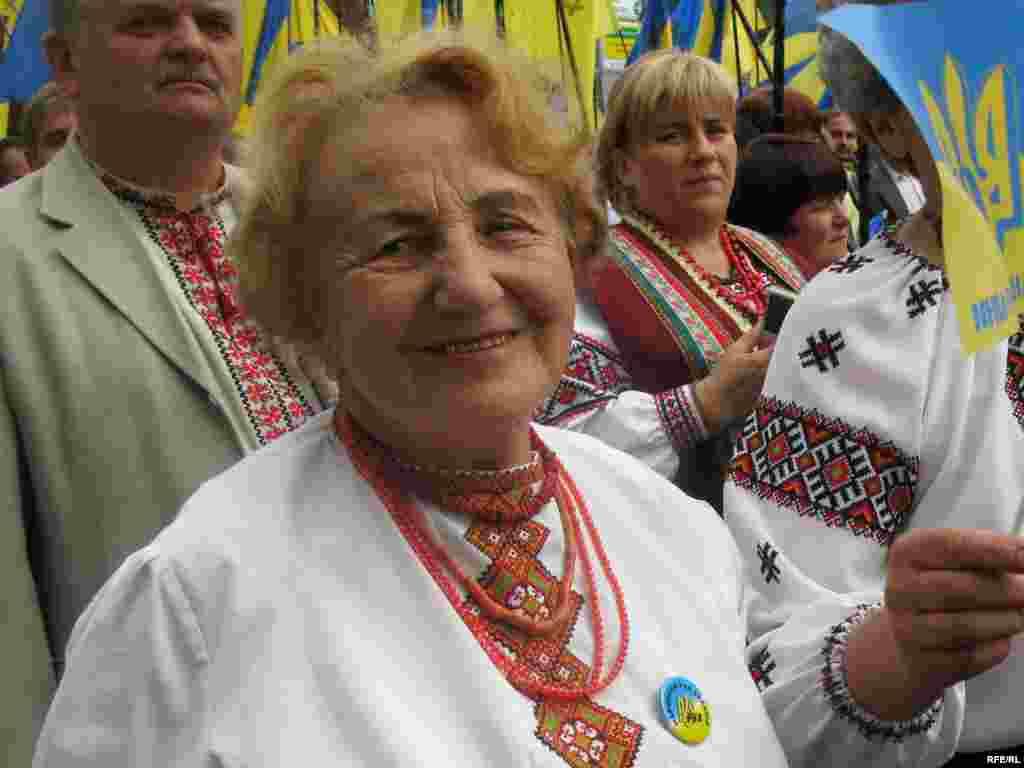 Богуслава Палкова приїхала на відзначення ювілею з Тернополя