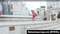 Скопје- табли на спомениците според Преспанскиот договор