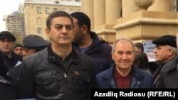 Əli Kərimli (solda) və Cəmil Həsənli