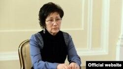 Председатель Верховного суда Айнаш Токбаева.