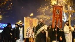 Protestne litije SPC u Podgorici 9. januara (ilustracija)