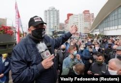 Выступление Сергея Тихановского на протестной акции, 24 мая 2020 года