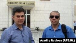 Fariz Namazli və Yalçın İmanov (sağda)