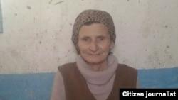 Chechenistonlik Lidiya Rahimova-Muxlayeva o'z yaqinlarini qidirmoqda.
