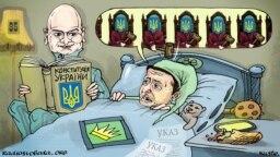 Zelenski și Constituția ucraineană