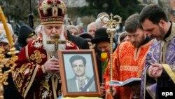 Гонгадзе менен коштошуу зыйнаты. 22-март, 2016-жыл. Украина