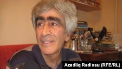 Azerbaijan - Azeri poets Feyziyye Hajiyeva (L) Vagif Bayatli Oder