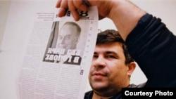 """Elmar Hüseynov, müstəqil jurnalist, """"Monitor"""" jurnalinın baş redaktoru, 2005-ci il martın 2-də qətlə yetirilib"""