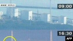 """Япония. АЭС """"Фукусима-1"""". Кадры телекомпании NHK 12 марта 2011 г"""