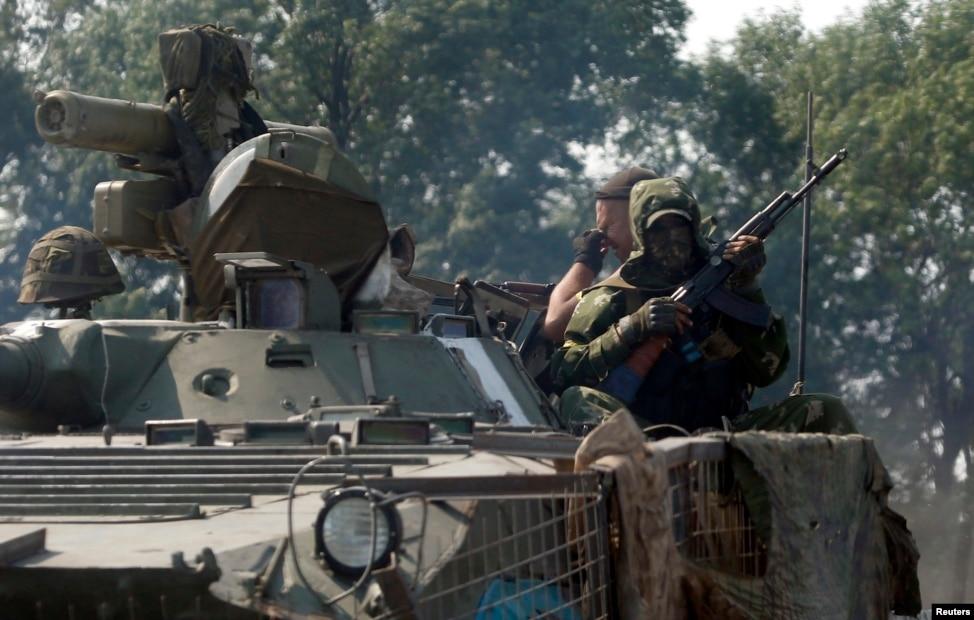 В Донецке террористы установили зенитку на крыше бизнес-центра, - МВД - Цензор.НЕТ 8924