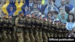 La parada militară de la Kiev