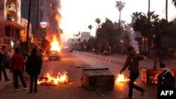 احد شوارع الاسكندرية الجمعة 8 شباط